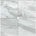 Композиция 4 плочки гранитогрес ефект сребрист мрамор Cut On Size Composizione 4 pezzi Argenta