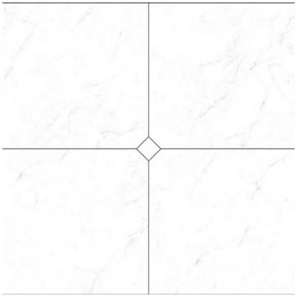 Композиция 4 плочки гранитогрес ефект мрамор Карара Cut On Size Composizione 4 pezzi Carrara