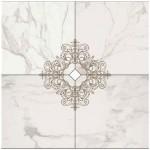 Композиция 4 плочки декоративен гранитогрес  Cut On Size Composizione Decoro 4 pezzi Calacatta