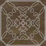 Кафява мини плочка декор естествен камък Cut On Size Tozzeti 7/7 Classico Marron Damasco Argento
