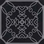 Мини плочка декор естествен черен мрамор Cut On Size Tozzeti 7/7 Classico Nero Marquina Argento