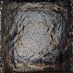 Декоративен гранитогрес за под – Vulkan Decor Flower Silver