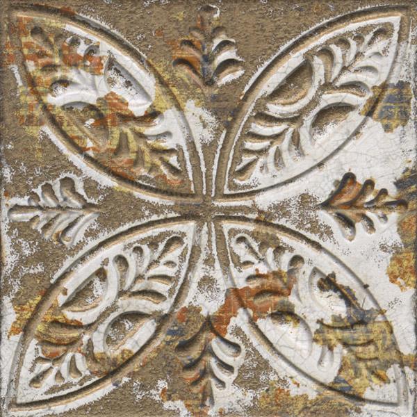 Тъмни фаянсови плочки за стена и за под декор – Aged Dark Ornato