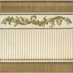 Фриз за баня нисък за цокъл – Majestic Gold Zocalo