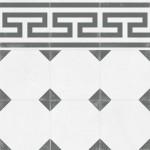 Гранитогрес декоративен модул с фриз – Tango Crespo Frieze Natural
