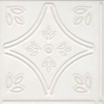 Бели плочки за баня ефект с флорална украса – Eternity White Zen