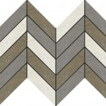 Гранитогресни плочки пачуърк – Recover Mix Nat Espiga Mosaico