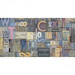 Стенни плочки за баня орнаментика цветни букви и цифри – Brave Ornato