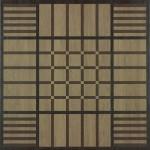 Гранитогресни плочкиГеометричен декор – dWood Square Natural