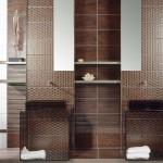 Невероятни плочки за дизайнерска баня Corten oxido на Aparici (Испания)