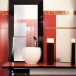 Уникални плочки за оригинална баня Metaphor rojo на Aparici (Испания)