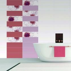 Автентични плочки с флорални детайли Silk freja Beatrice от Dual Gres (Испания)