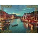 Декорни плочки за баня с размери 75 x 100 - 6 бр. Venezia Mural