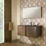 Мозаечни плочки за баня с дизайнерски декорации Aurea Beige от Ceramica Latina (Испания)