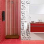 Модерни плочки за дизайнерска баня Sorola rojo от Ceramica Latina (Испания)