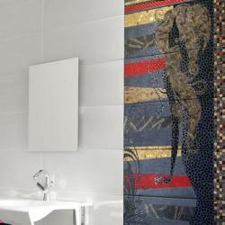 Интересни плочки за оригинална баня Tribeca Queens от Ceramica Latina (Испания)