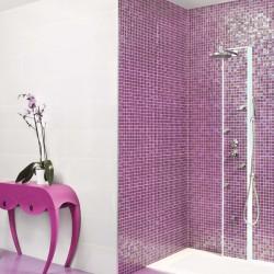 Стилни плочки за баня в контрастни цветове Diana от Ceramica Latina (Испания)