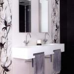 Богати плочки за шикозна баня Sorola negro от Ceramica Latina (Испания)