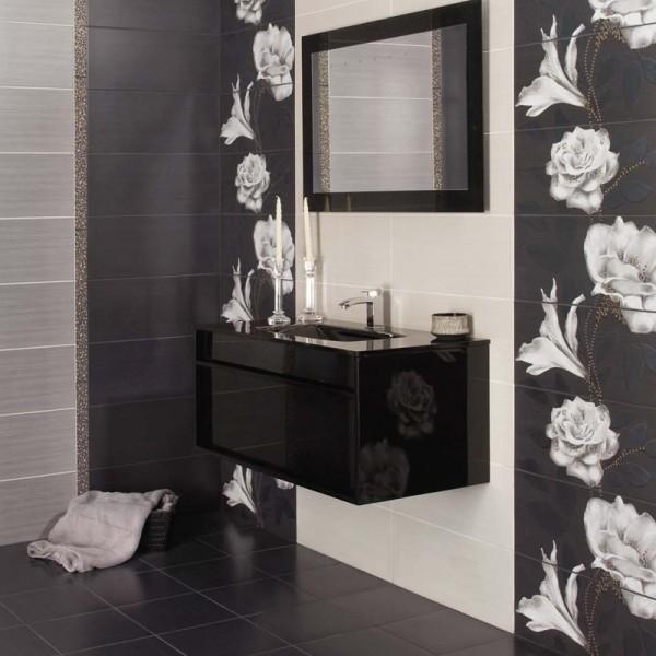 Балансирани плочки за стилна баня Серия Hermes 1 от Ceramica Latina (Испания)