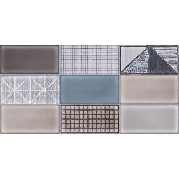 Стилизирани плочки за стена Carina Mix decor от Ege Seramik (Турция)