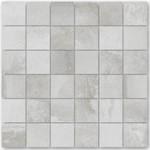 Сиви плочки мозайка гранитогрес Malla Derby Gris