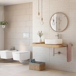 Керамични плочки за баня ефект варовиков камък Costa на Roca (Испания)