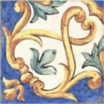 Linosa Mediterraneo декорен комплект плочки на Tuscania