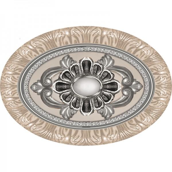 Фриз за баня 10x14 см T-Kent Luxury White Venus Ceramica