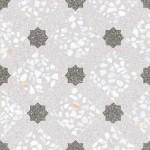 Гранитогресни плочки декор сиво решетка – Mancini Humo