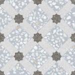 Гранитогресни плочки декор синьо решетка – Mancini Azul