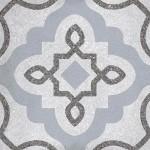 Гранитогрес в сиво декор флорален мотив – Tercello Humo G198