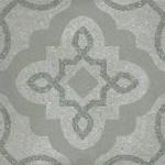 Гранитогрес в морско синьо декор флорален мотив – Tercello Mar G198