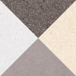 Гранитогрес декор разноцветни триъгълници – Cestio Multicolor G213