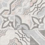 Гранитогрес декоративен – плочка с флорален модул Atokos Multicolor