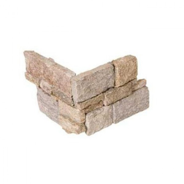 Плочки облицовъчни от естествен камък с размери 20 x 50 см. Natur 9 Corner