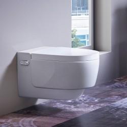 Ултра модерна конзолна тоалетна чиния Geberit AquaClean Mera Classic