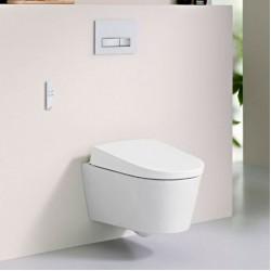 Модернистична стенна тоалетна чиния – модел GEBERIT AQUACLEAN SELA