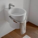 Дизайнерска Стенна мивка типп кофа - Scarabeo