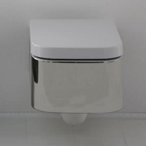 Тоалетна чиния за стена Next - финитура Металик