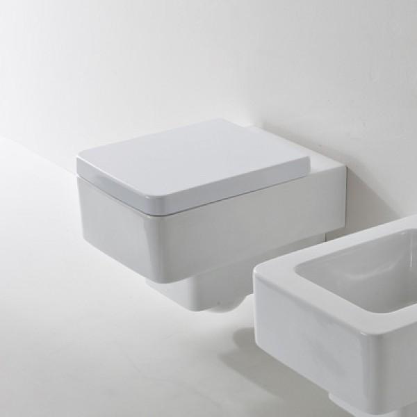 Стилна Бяла Седалка Teorema - Scarabeo