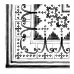 Гранитогрес плочки с размери 20 x 20 см. Bellaria-3 Sombra G23