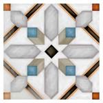 Гранитогрес плочки с размери 20 x 20 см. Demel Multicolor G198