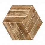 Гранитогрес плочки с размери 44.5 x 38 см. Honeycomb Veneto Canela