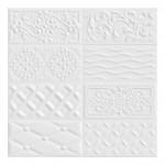 Плочки за стена с размери 10 x 20 см. Raspail Blanco G218