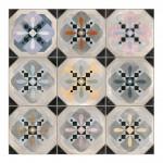 Теракот плочки за баня с размери 31.6 x 31.6 см. Hyde G213